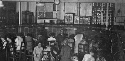 1932, inauguration du 1er CDM de la radio à Paris.